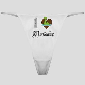 I [HEART] NESSIE Classic Thong